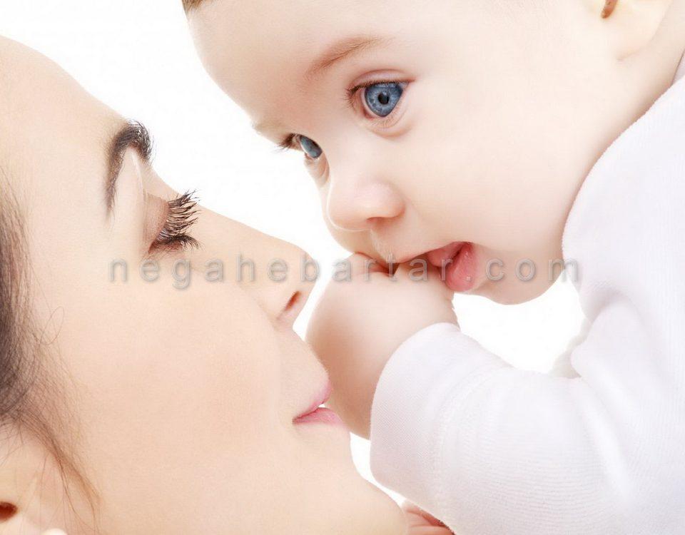 عکس نوزاد و مادر