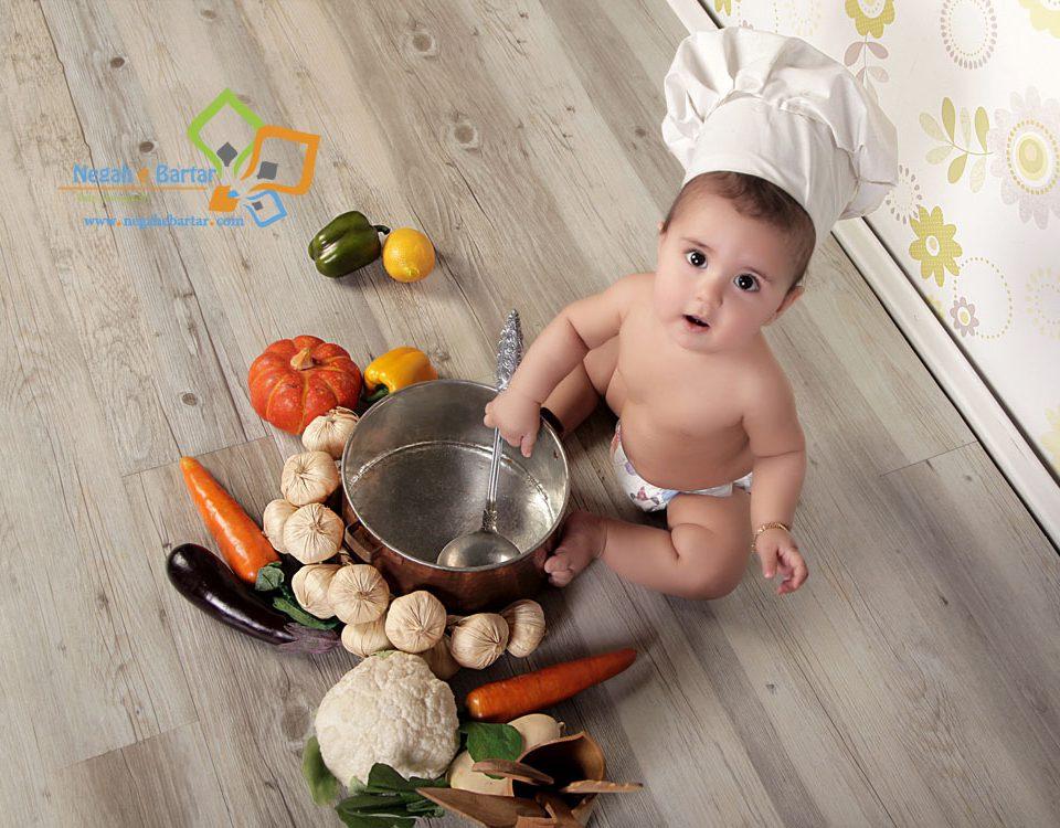 عکاسی از کودک ۸ تا ۱۲ ماهه
