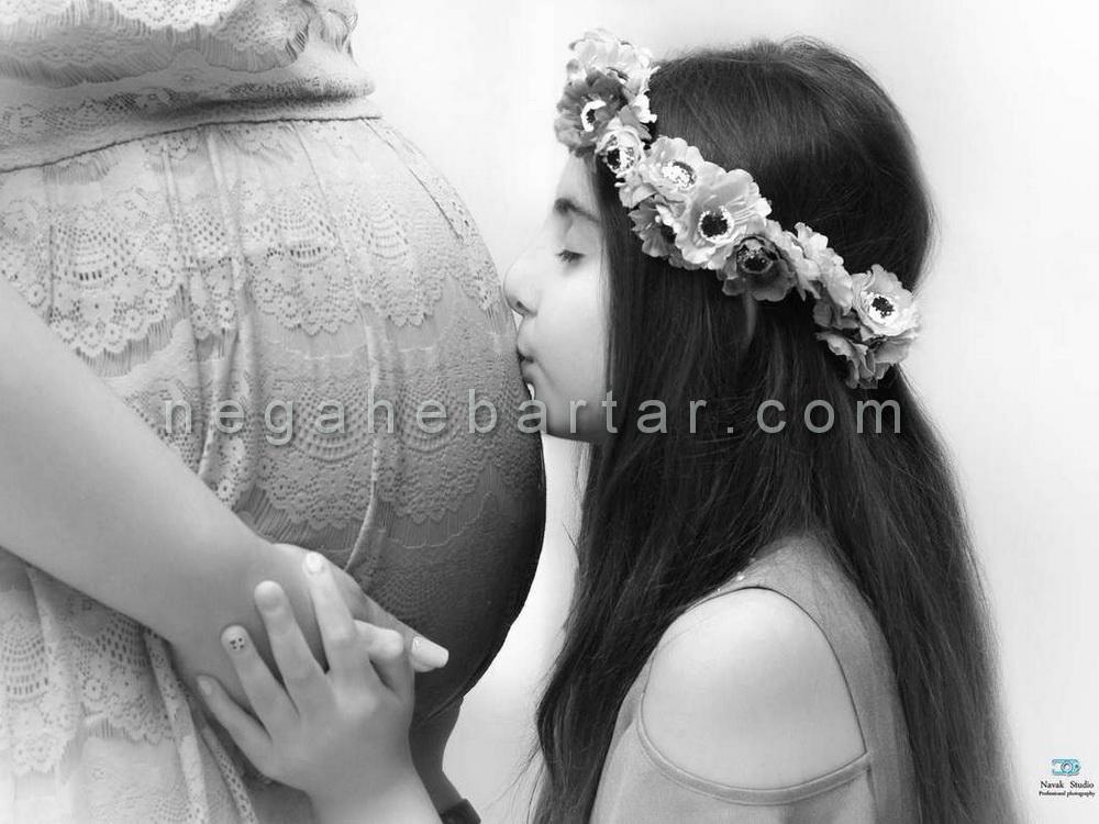 عکاسی بارداری در غرب تهران